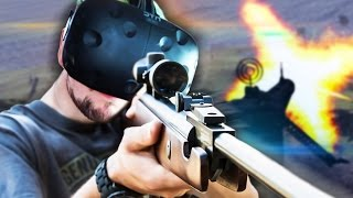 SKYDIVE SNIPER   The Last Sniper VR (HTC Vive Virtual Reality)