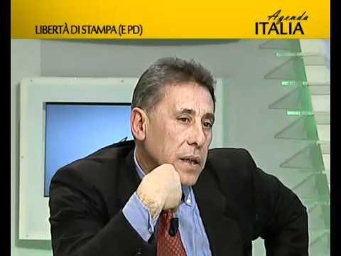 Libertà di stampa (e Pd) (Agenda Italia 26/01/2012) - Youdem Tv