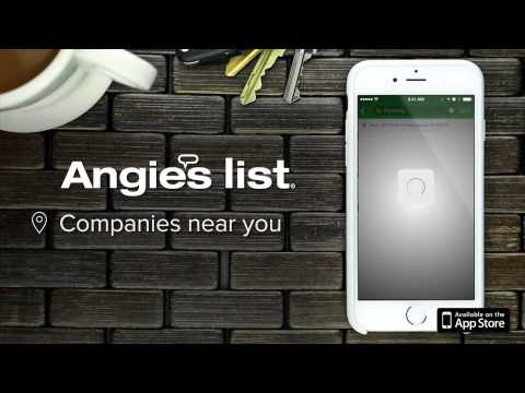 The new Angie's List app for iPhone