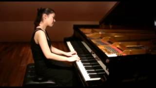 W.A.Mozart Piano Sonata G-dur KV 283 2nd movement  [ Marika Suzuki ]