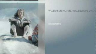 Yaltah Menuhin Plays The Waldstein, 2nd & 3rd Movements