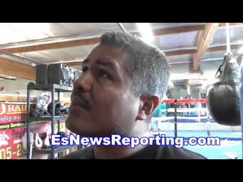 robert garcia how would he do vs floyd mayweather in ring - EsNews