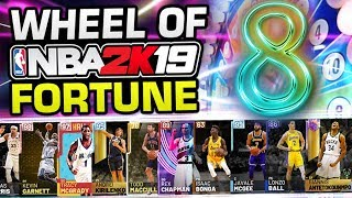 Wheel of NBA 2K19 Fortune 8
