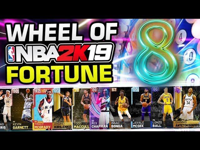 Wheel of NBA 2K19 Fortune 8 (NBA Playoffs)