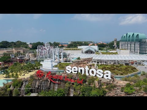 Resort World Sentosa - Singapore (4K)