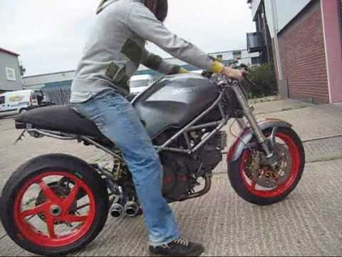 Ducati monster, 750 special ! - YouTube