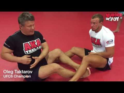 Oleg Taktarov: MMA tech #7 боляк Дракулы