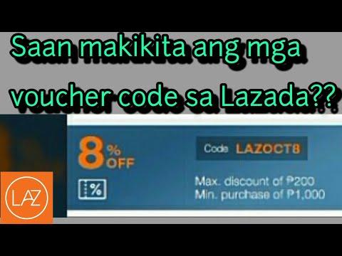 Lazada PH: Paano Makakuha Ng Voucher Code Sa Lazada??