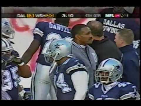 Chad Hutchinson to Antonio Bryant TD at Washington 2002