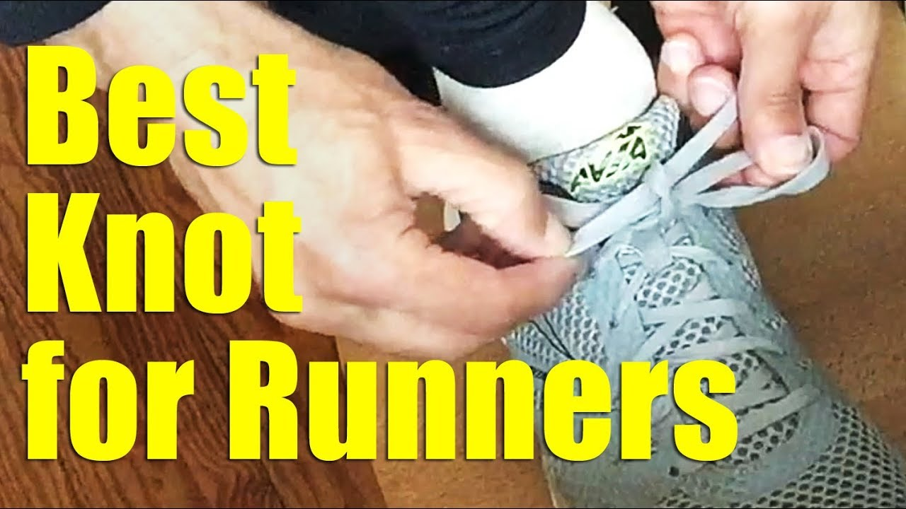 335828a468e7 Runners - The Best Way to Tie Your Running Shoes - Square Knot Bow ...