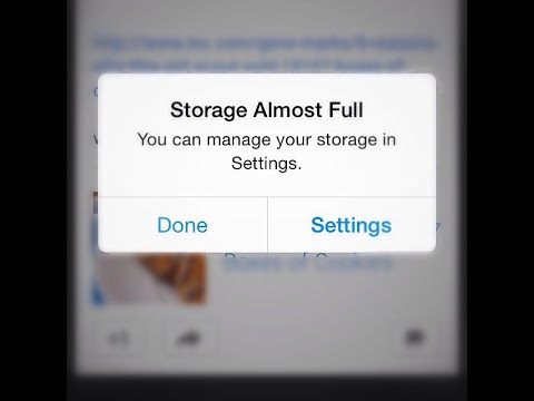 """How To Reduce """"System"""" Storage Size On IPhone Or IPad"""