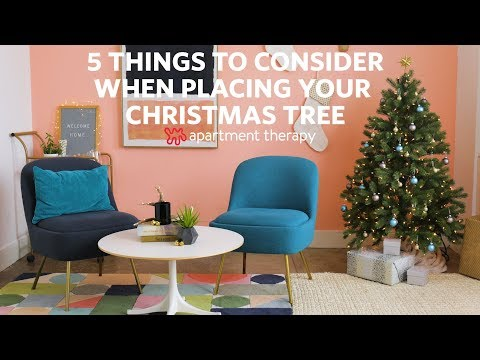 Where to Place Your Christmas Tree | Apartment Therapy