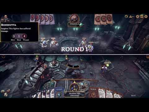 Warhammer Underworlds - Steelhearts vs Orks 3-0 Early Rage Quit |