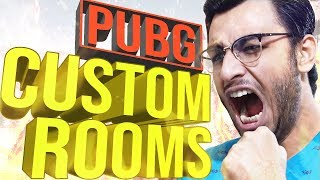 PUBG MOBILE LIVE: CUSTOM ROOMS!! YOU vs ME!!