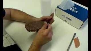 Детская ортопедическая обувь Ortmann со съемным каблуком.(На видео показана процедура установки пронатора под каблук Томаса. Установка осуществляется при помощи..., 2013-10-14T11:45:58.000Z)