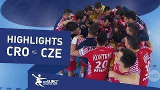 Highlights | Croatia vs Czech Republic | Men's EHF EURO 2018