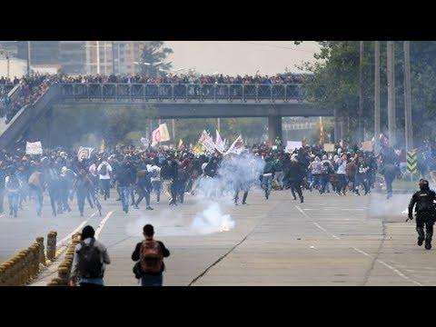 Month-Long Student Strike Paralyzes Colombia's Public Universities