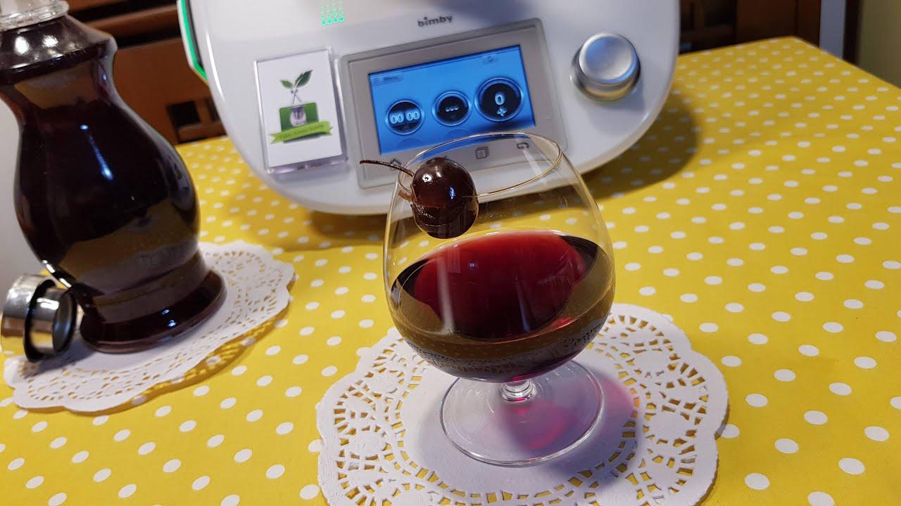 Liquore alle ciliegie cherry bimby TM6 TM5 TM31 TM21