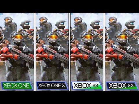 (Wait for 4K) Halo Infinite Tech Preview   Xbox One S X vs Xbox Series S X   Graphics Comparison