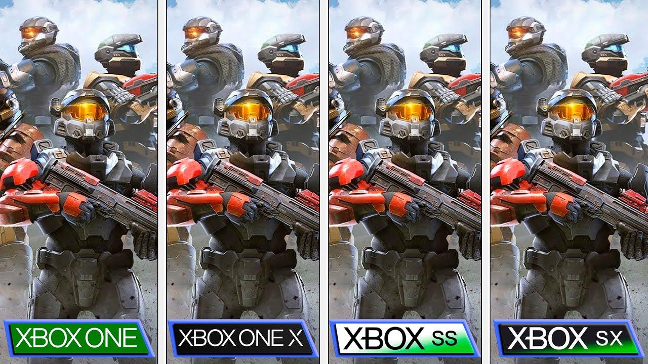Halo Infinite Tech Preview | Xbox One S|X vs Xbox Series S|X | Graphics Comparison