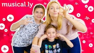 ON SE LANCE SUR MUSICAL.LY !!! - Nos premiers musically 🎵
