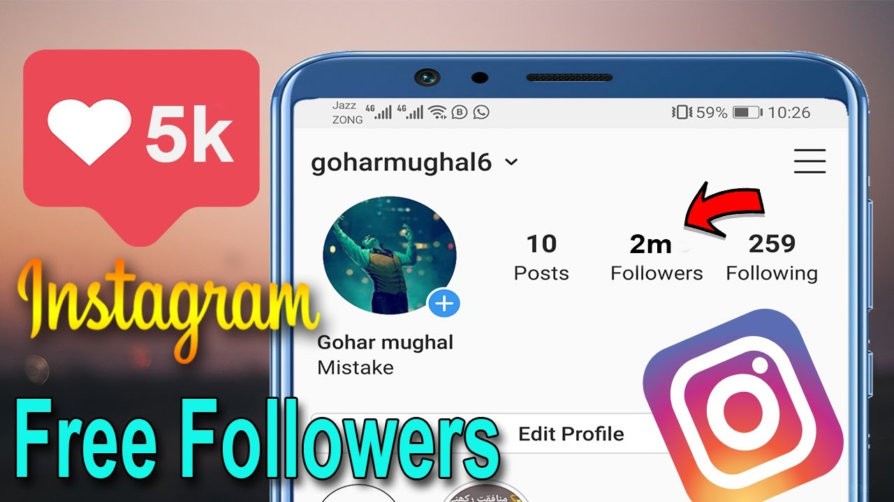 10k before and after   Instagram follower free, Free