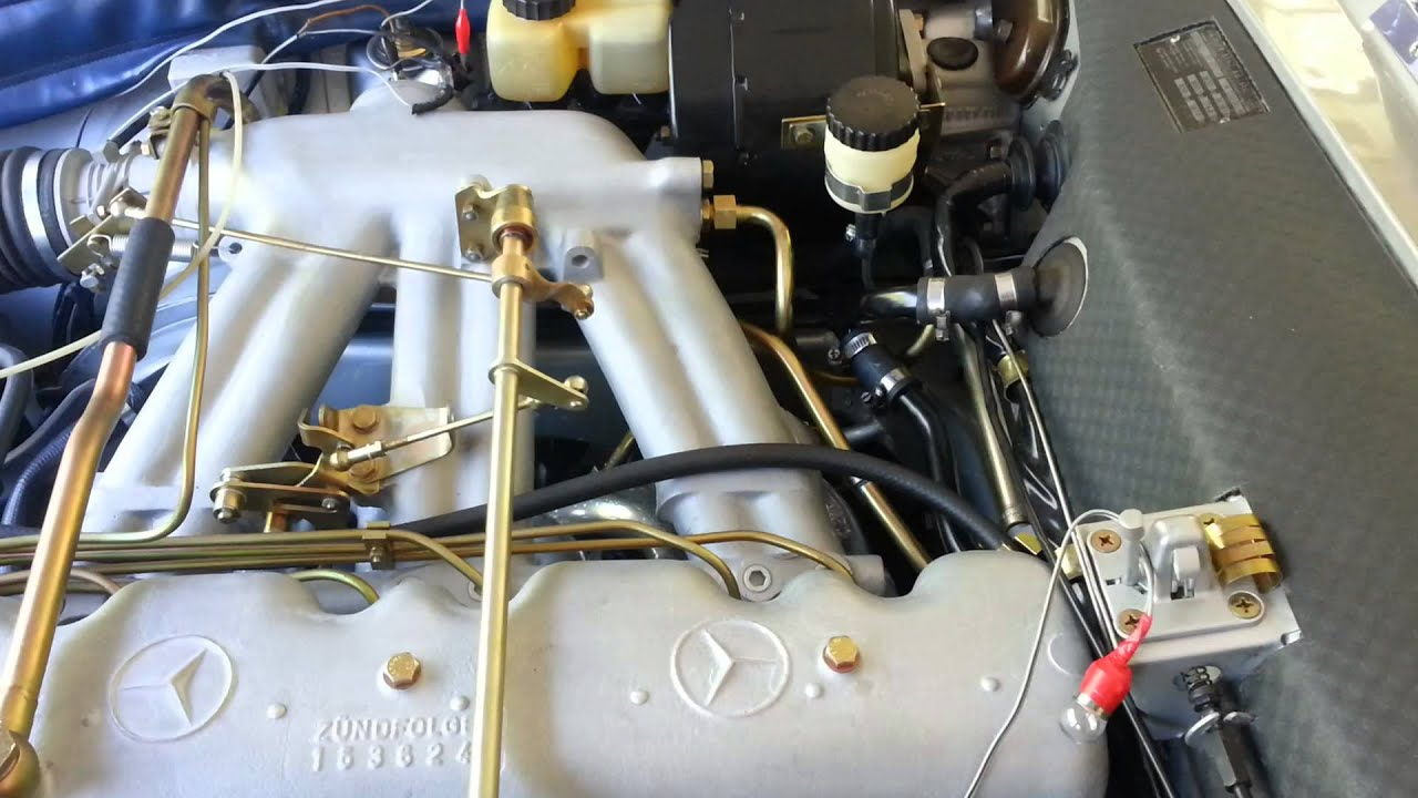 mercedes w113 cold start diagnostic youtube rh youtube com Mercedes Pagoda Restoration Mercedes Pagoda Roof