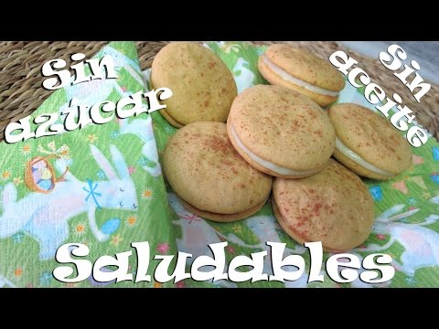 Whoopies SALUDABLES| VEGAN| SIN AZÚCAR| SIN ACEITE manzana y zanahoria