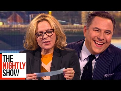 Kim Cattrall Answers Questions She's Never Been Asked Before   The Nightly Show