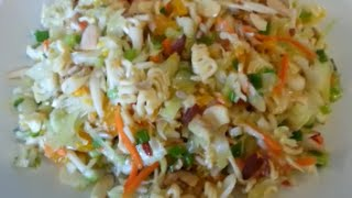 How To Make Ramen Noodle Salad - 99 Cents Only Store Recipe