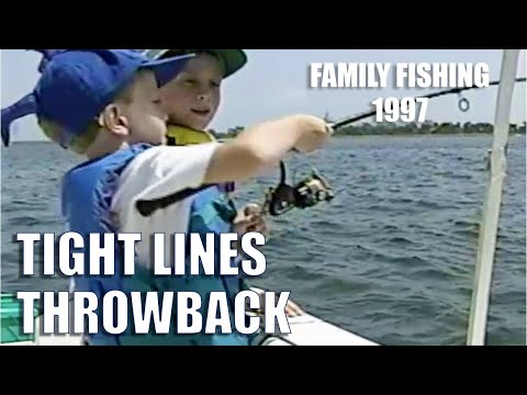 Tight Lines Throwback: Family Fishing 1998