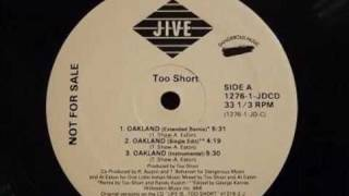 Watch Too Short Oakland video