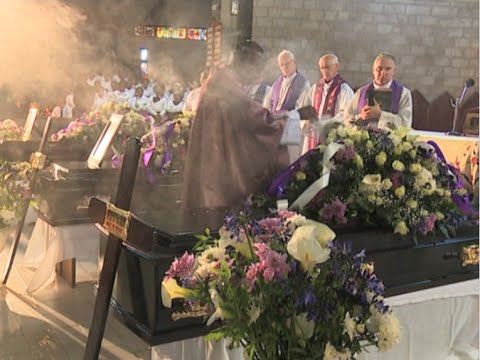 Requiem mass held for murdered lawyer, his client and taxi driver
