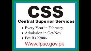 CSS Exam 2020 Guideline by Yasir Pirzada Part 3 of 4