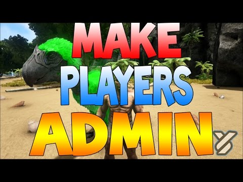 ARK Survival Evolved - HOW TO GIVE ALL PLAYERS ADMIN ON XBOX ( NON HOST COMMANDS)