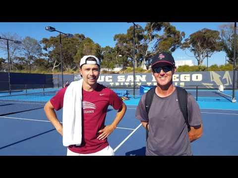 Men's Tennis Post Match - NCAA at UC San Diego