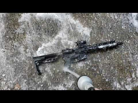 How to properly clean the Ar15