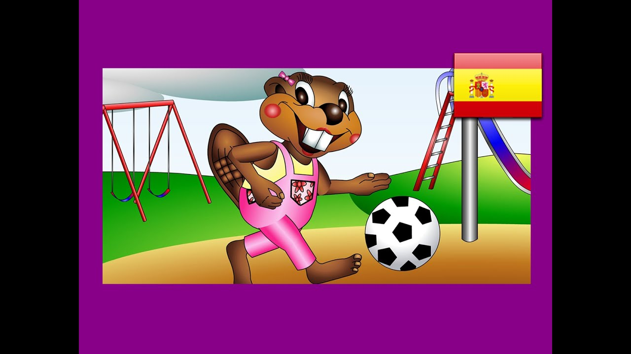 Playing Games Spanish Lesson 16 Clip Children Learn