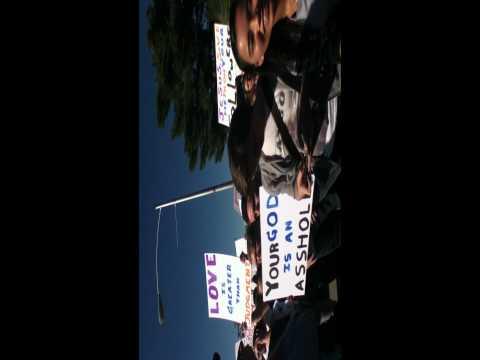 Counterprotest Westboro Baptist @ UNLV