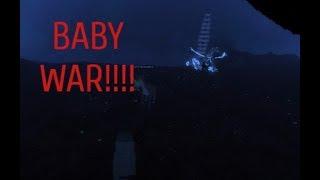 BABIES VS BABIES Roblox Dinosaur Simulator WAR!