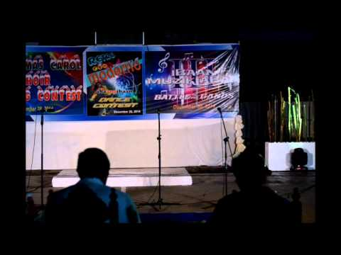 1st ibaan christmas carol choir singing contest 12 28 2014
