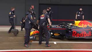 Red Bull Racing 2021 Sergio Perez's First Laps