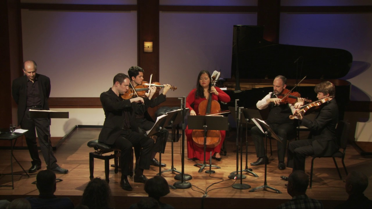 Inside Chamber Music with Bruce Adolphe- Mozart's Quintet in C minor, K. 406