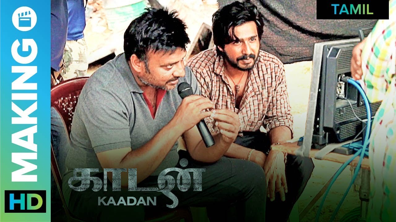 Download The Star Of The Film | Kaadan - Behind The Scenes | Rana Daggubati | Prabu Solomon