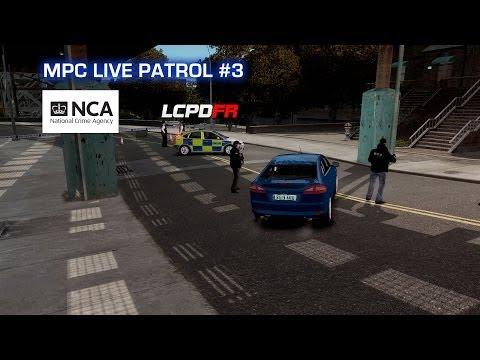 GTA IV Metropolitan Police Clan - National Crime Agency - Live Patrol 3
