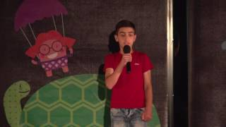 Life in villages near borders has another image | Artush Tshagharyan | TEDxKids@Yerevan
