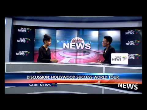 Shani Pride on Hollywood Success Worldwide Tour