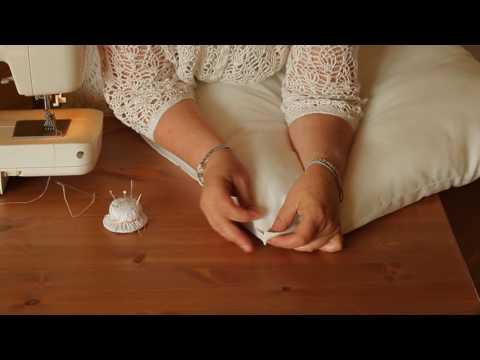 0 - Як зшити подушку з поролону?