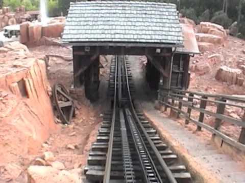 Big Thunder Mountain Railroad (Looking Backward) at the Magic Kingdom (2006)