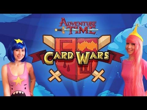 Знакомство с Бимо и Марселин - AT Card Wars - #2